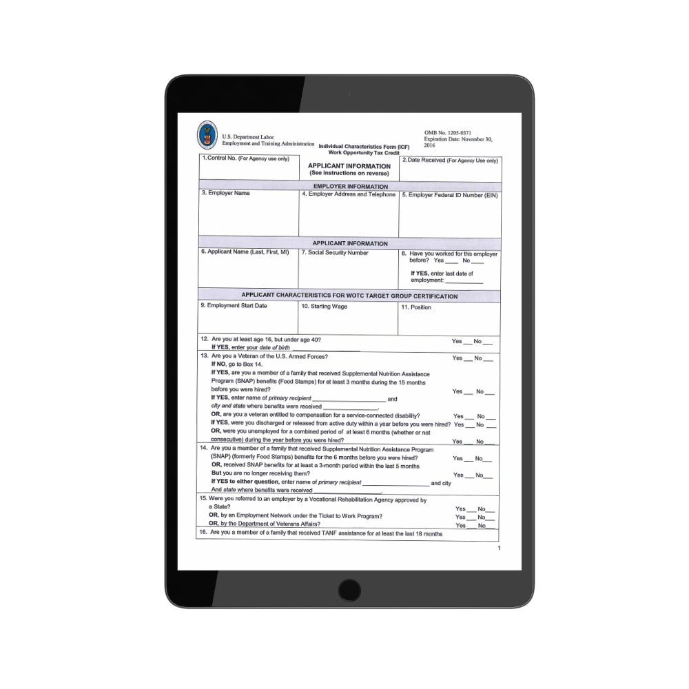 TPG ETA 9061 Form | TPG Employer Forms