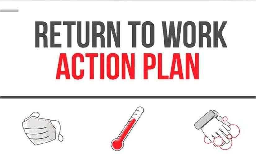 Return to Work Action Plan banner