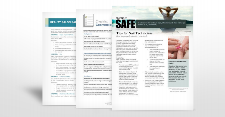 Beauty Salon Industry Safety Manuals | TPG Insurance Services