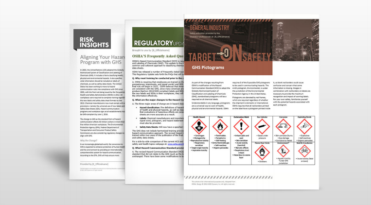 GHS Compliance Safety Manuals | TPG Insurance Services