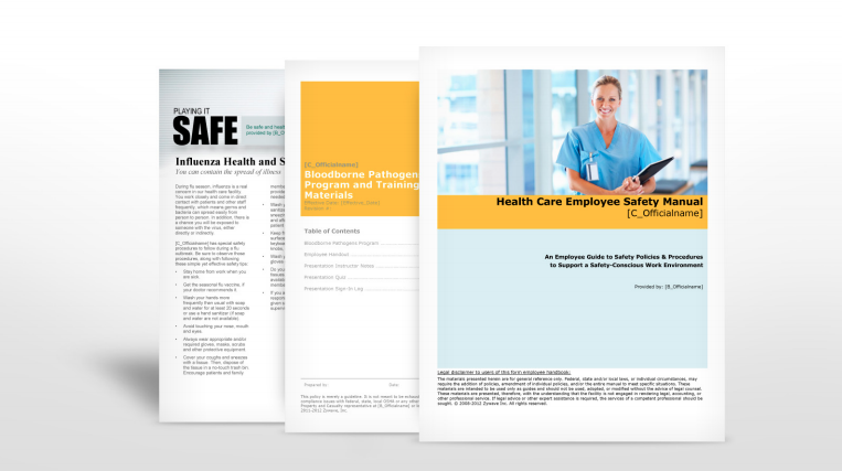 Health Care Safety Manuals - Insurance   TPG Insurance Services