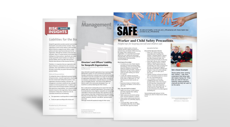 Nonprofit Industry Safety Manuals - Insurance | TPG Insurance Services