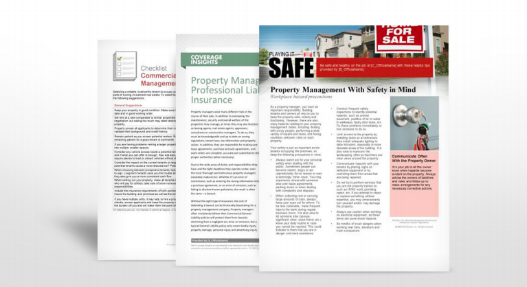 Property Management Industry Safety Manuals | TPG Insurance Services