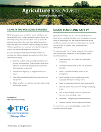 Agriculture Risk Advisor Newsletter- Second Quarter