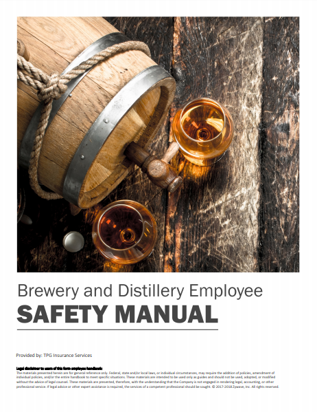 Safety Manuals By Industry - Brewery & Distillery Employee | TPG