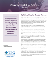 Commercial Risk Advisor Newsletter - September 2019