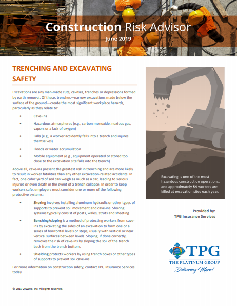 Construction Risk Advisor Newsletter - June 2019