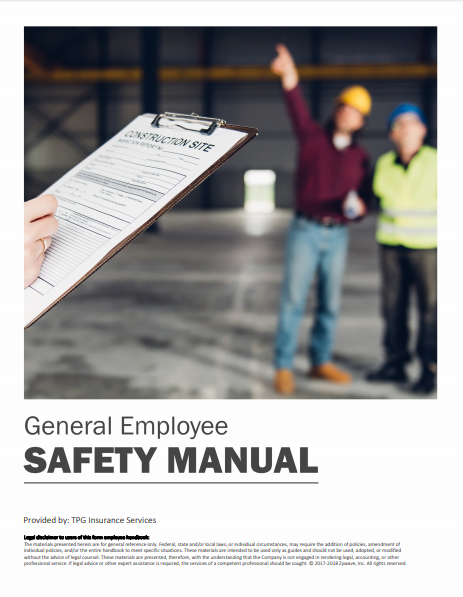 Safety Manuals By Industry - General Employee | TPG