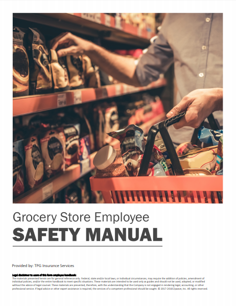 Safety Manuals By Industry - Grocery Store Employee | TPG