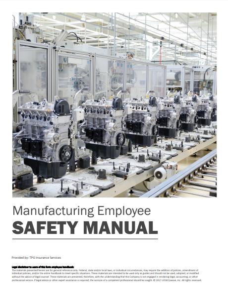 Safety Manuals By Industry - Manufacturing Employee | TPG