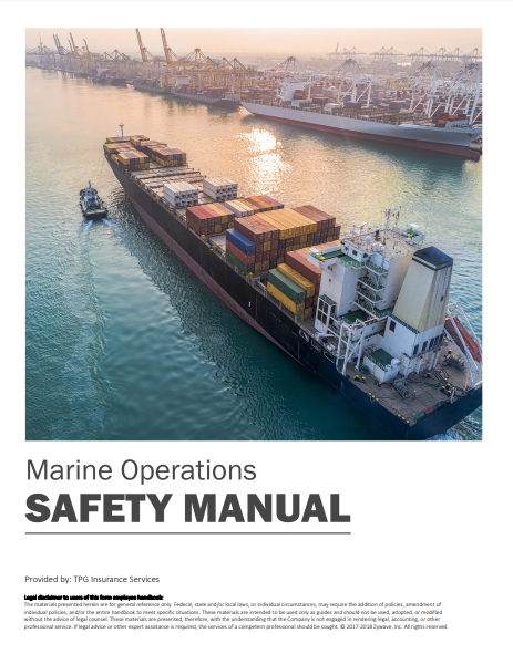 Safety Manuals By Industry - Marine Operations | TPG