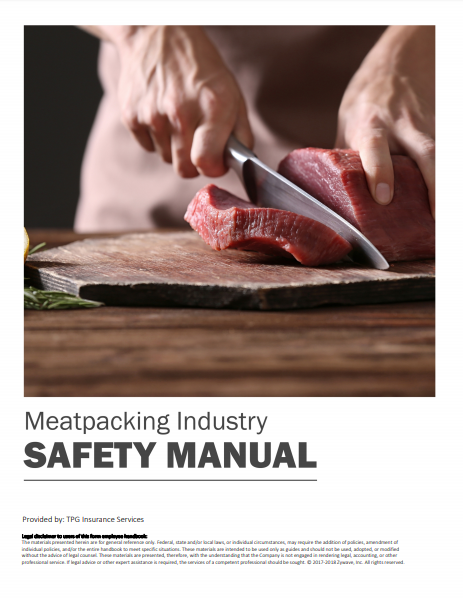 Safety Manuals By Industry - Meetpacking Industry | TPG