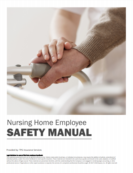 Safety Manuals By Industry - Nursing Home Employee | TPG