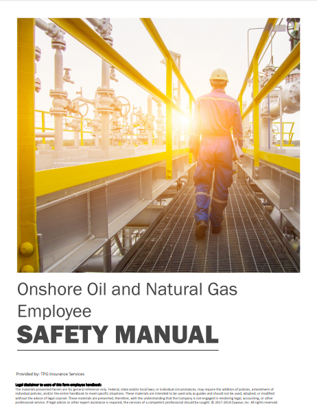 Safety Manuals By Industry - Onshore Oil and Natural Gas | TPG