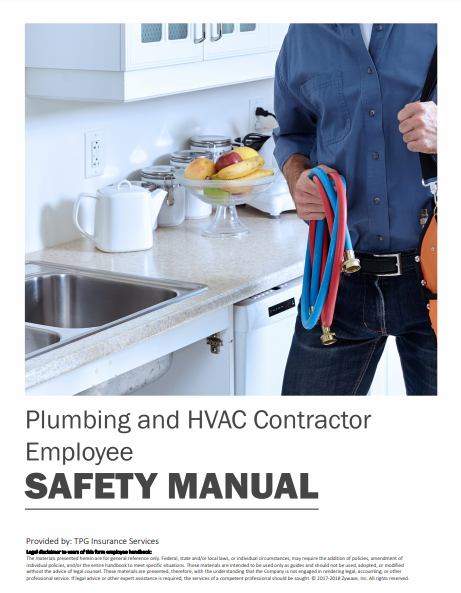 Safety Manuals By Industry - Plumbing and HVAC Contractor Employee | TPG