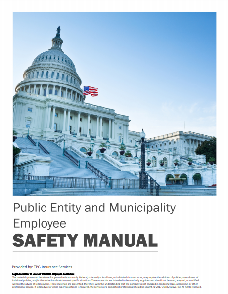 Safety Manuals By Industry - Public Entity and Municipality Employee | TPG