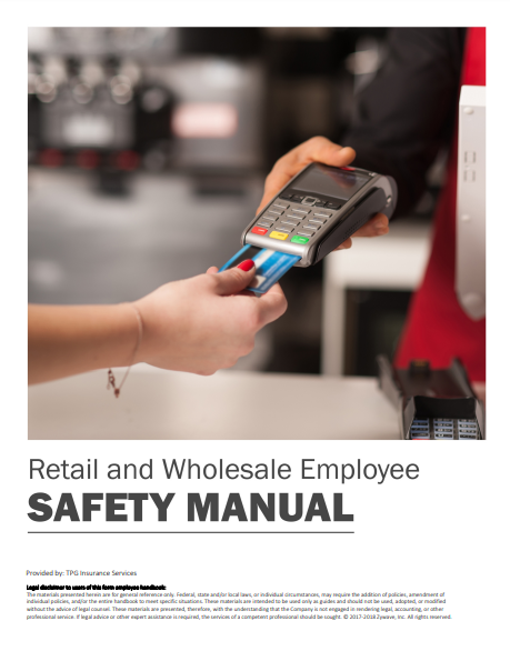 Safety Manuals By Industry - Retail and Wholesale Employee | TPG
