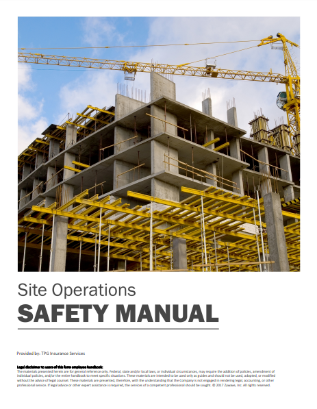 Safety Manuals By Industry - Site Operations | TPG