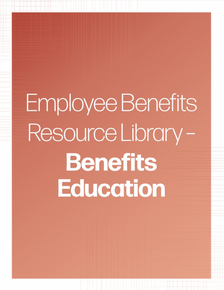 Benefits Education banner - Property and Casualty Resource Library | TPG