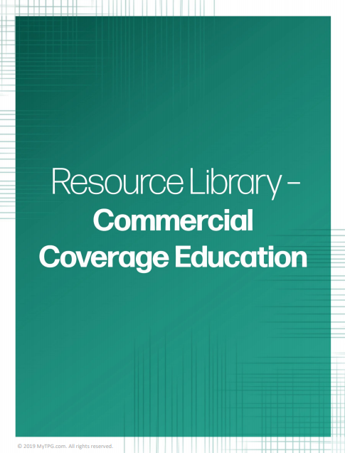 Commercial Coverage Education banner | TPG