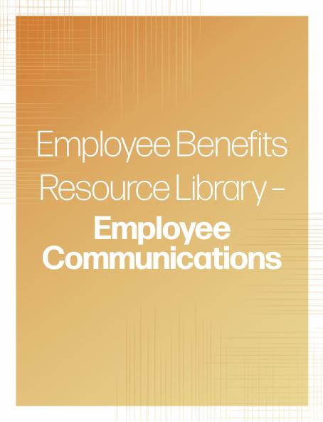 Employee Communications banner | TPG