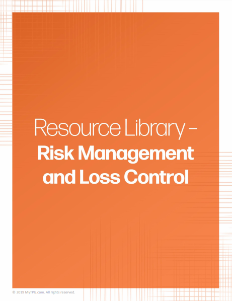 Risk Management and Loss Control banner | TPG